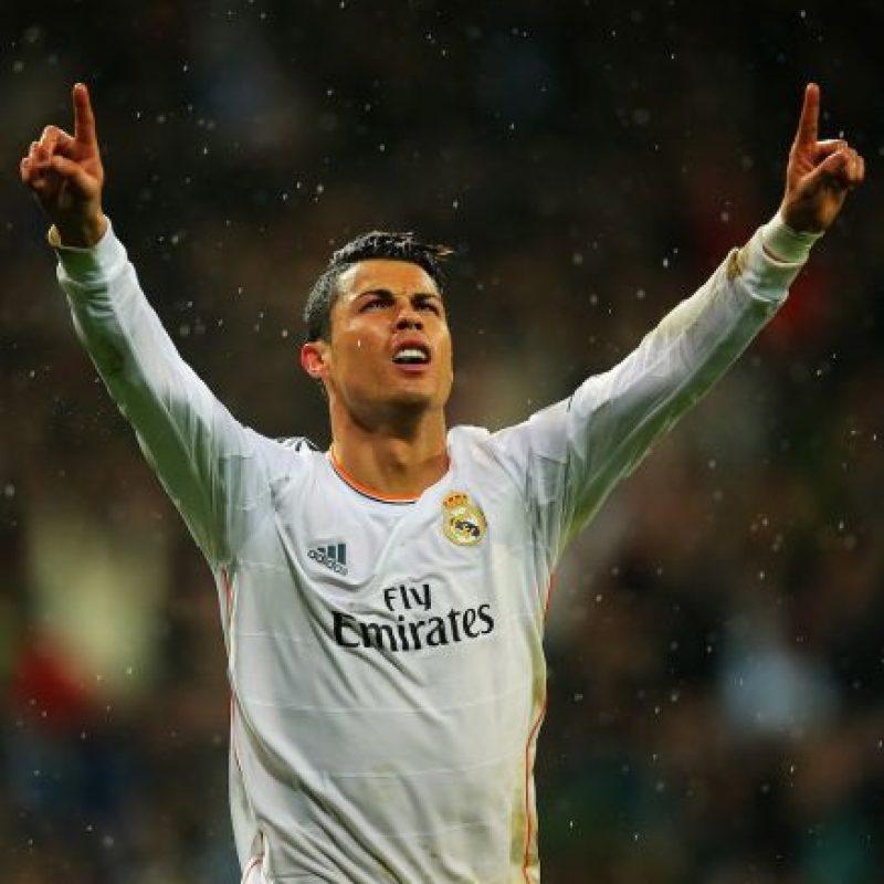 El portugués Cristiano Ronaldo está a un solo gol de Raúl y Messi. Foto:Getty Images