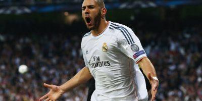 Benzema ha realizado sus anotaciones con el Olympique Lyonnas y el Real Madrid. Foto:Getty Images