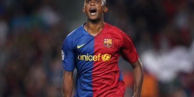 Eto'o anotó con el Mallorca, Barcelona, Inter de Milán y Chelsea. Foto:Getty Images