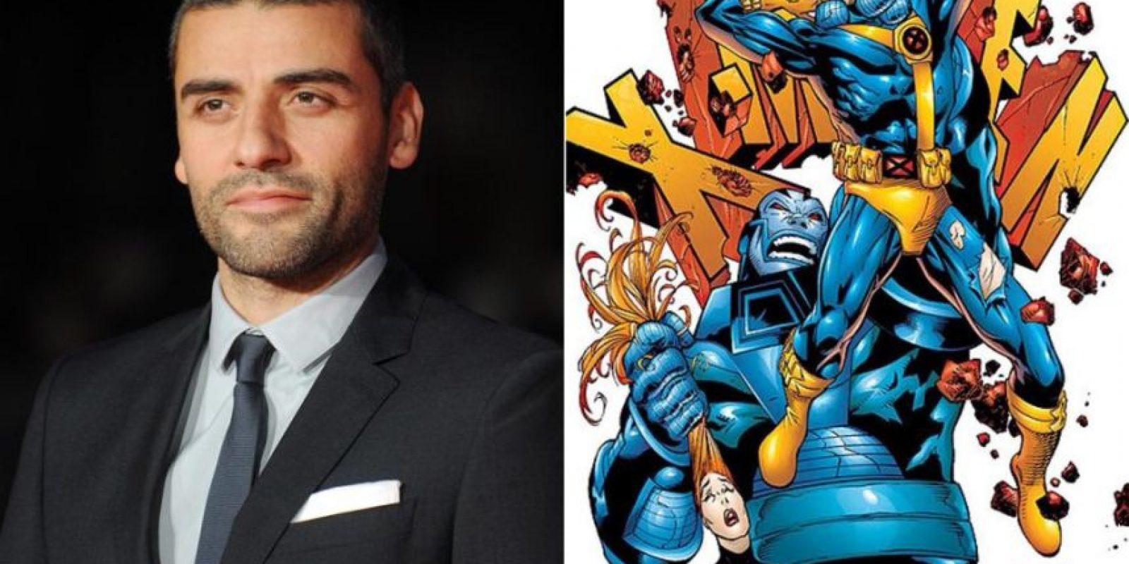Óscar Isaac formará parte del reparto de la nueva película de los X-Men