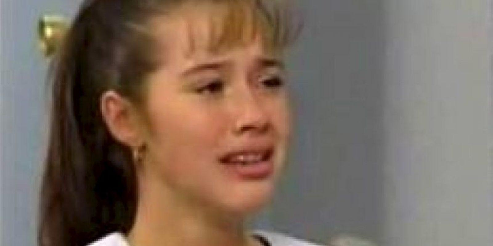 """Yulianna Peniche es actriz de Televisa, mejor recordada con su papel de """"la maldita lisiada"""" en la telenovela """"María la del Barrio"""" Foto:YouTube"""