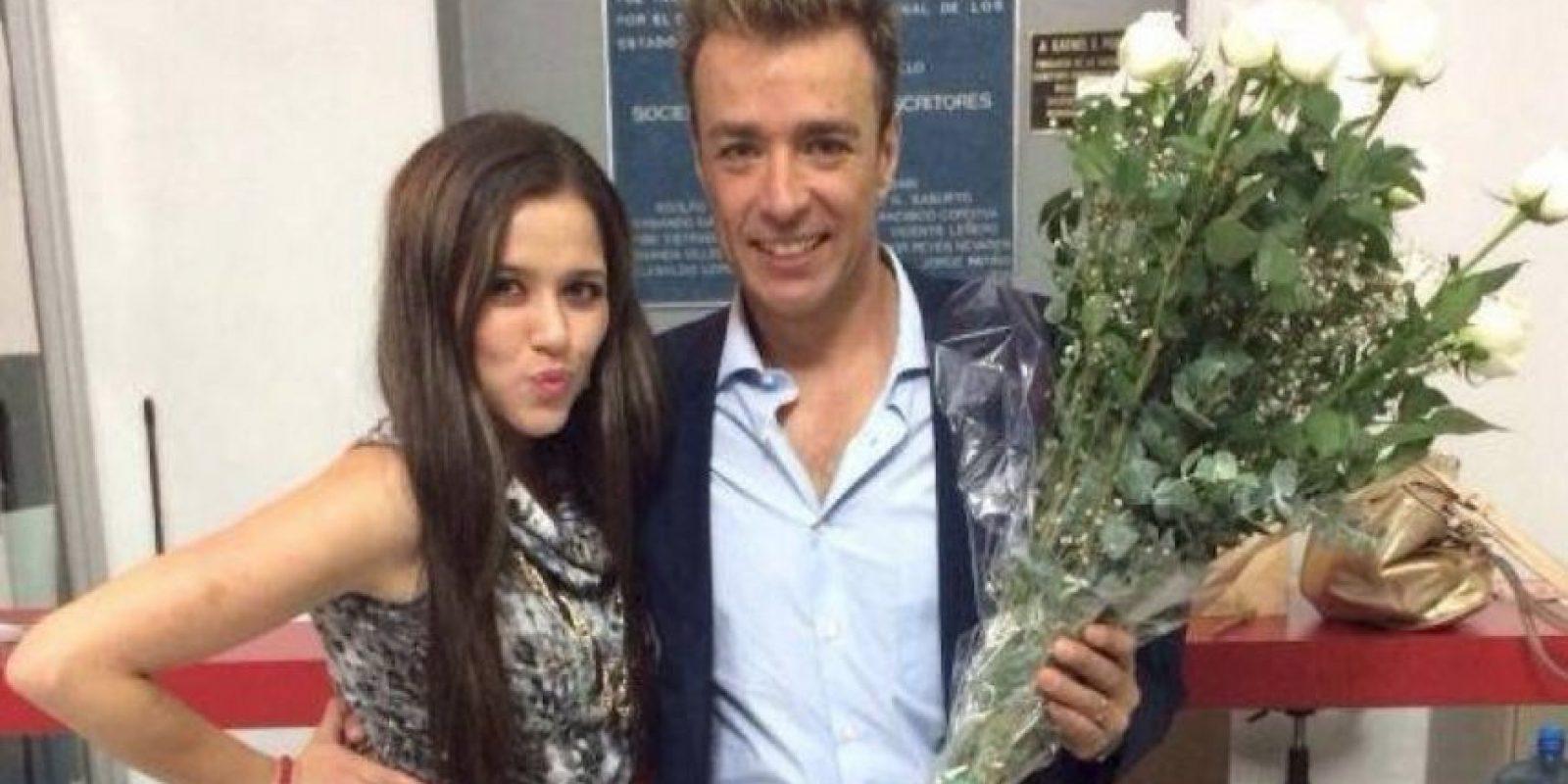 Alguna vez se le relacionó con Raúl Magaña, pero en realidad nunca fueron novios Foto:Twitter