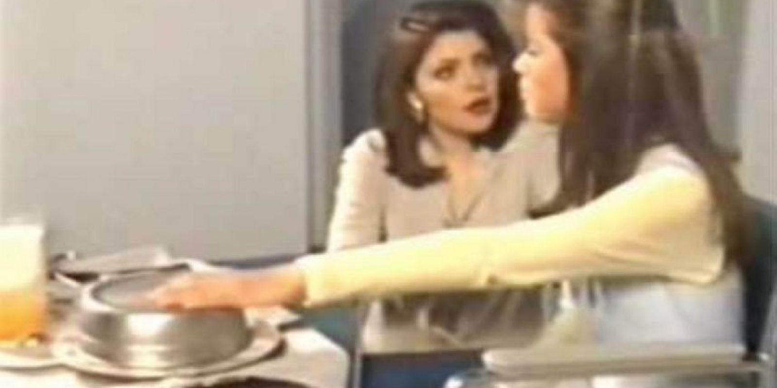Actualmente en la red se usa mucho su actuación al lado de Itatí Cantoral cuando la regañaba y maltrataba en la novela Foto:YouTube
