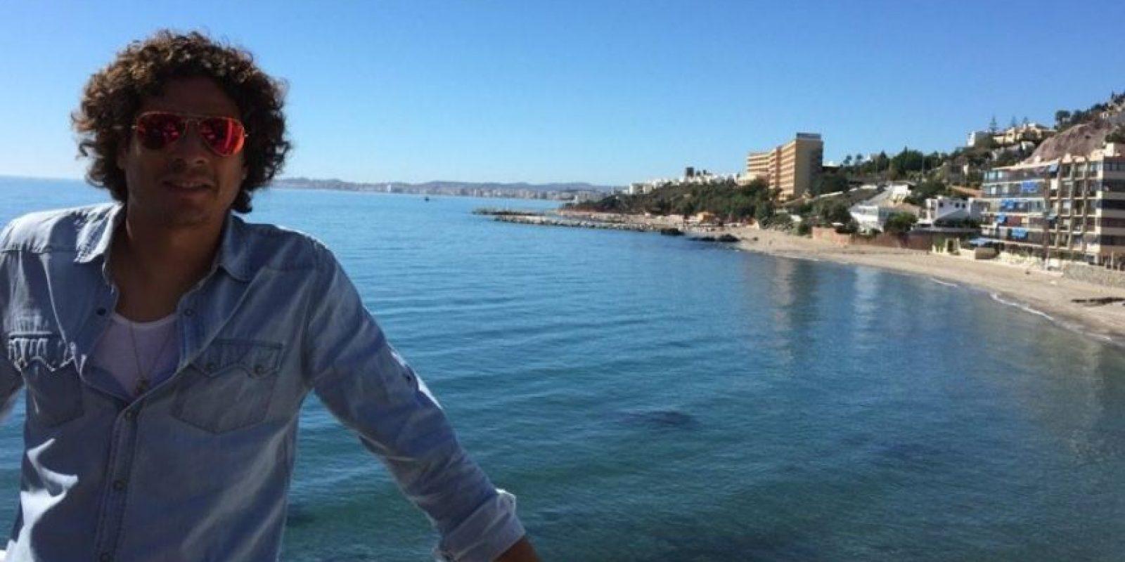 Ochoa tiene 29 años de edad y es miembros del Málagra español. Foto:twitter.com/yosoy8a