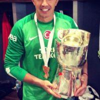 Fernando es portero del Galatasaray de Turquía y tiene 28 años de edad. Foto:twitter.com/1_Muslera_25