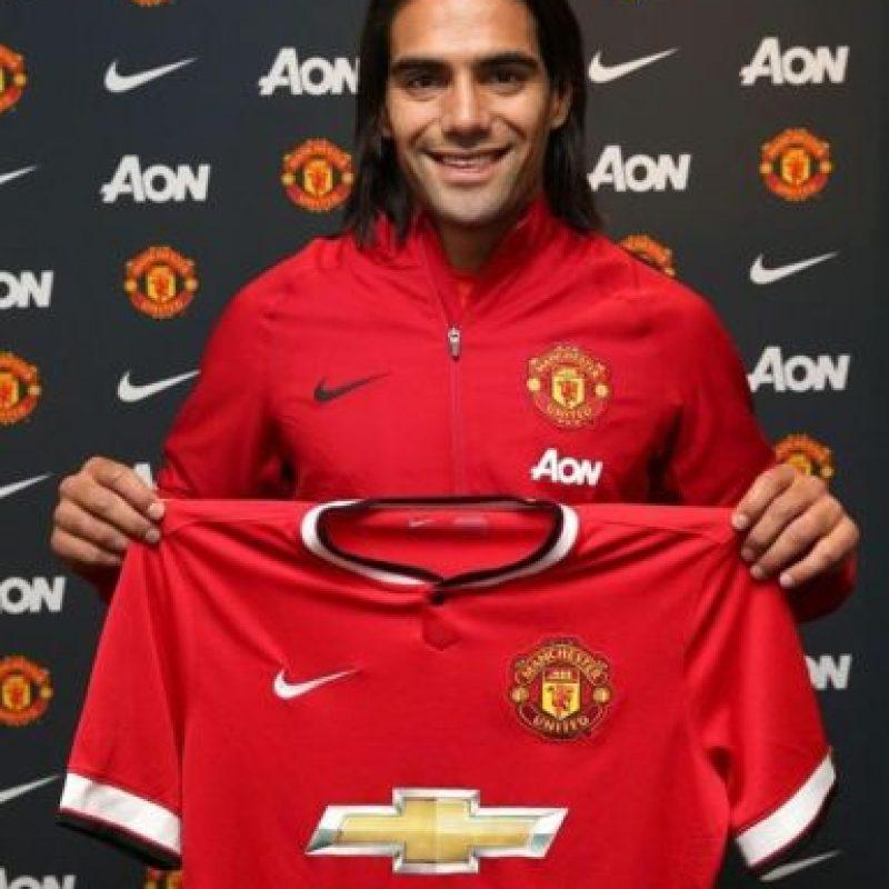Falcao García tiene 28 años de edad y forma parte del Manchester United de la Premier League inglesa. Foto:twitter.com/FALCAO