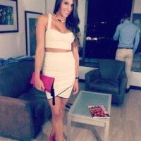 La mujer de la estrella de Colombia, James Rodríguez Foto:Instagram: @daniela_ospina