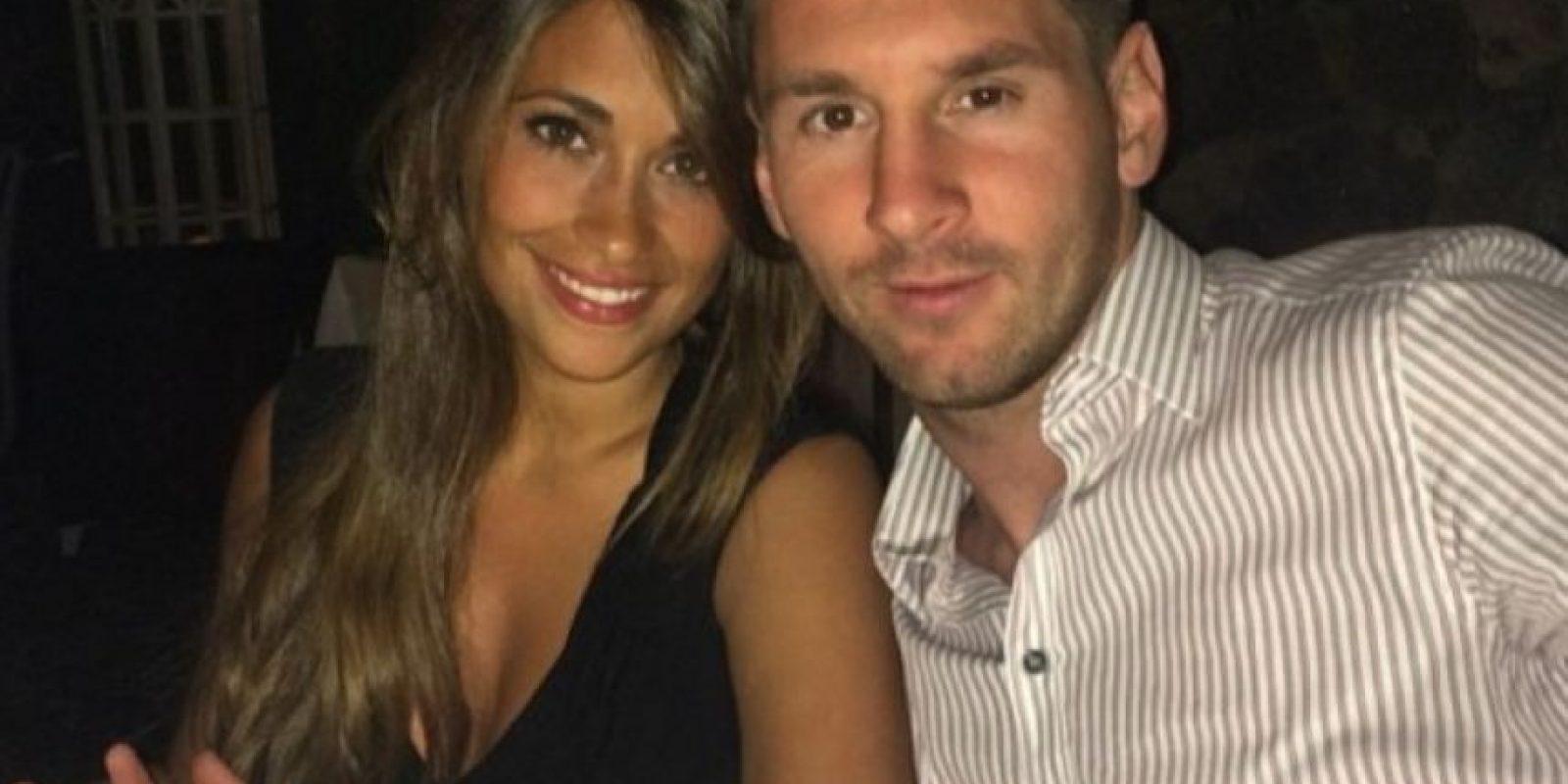 Antonella Roccuzo. Esposa de Leonel Messi
