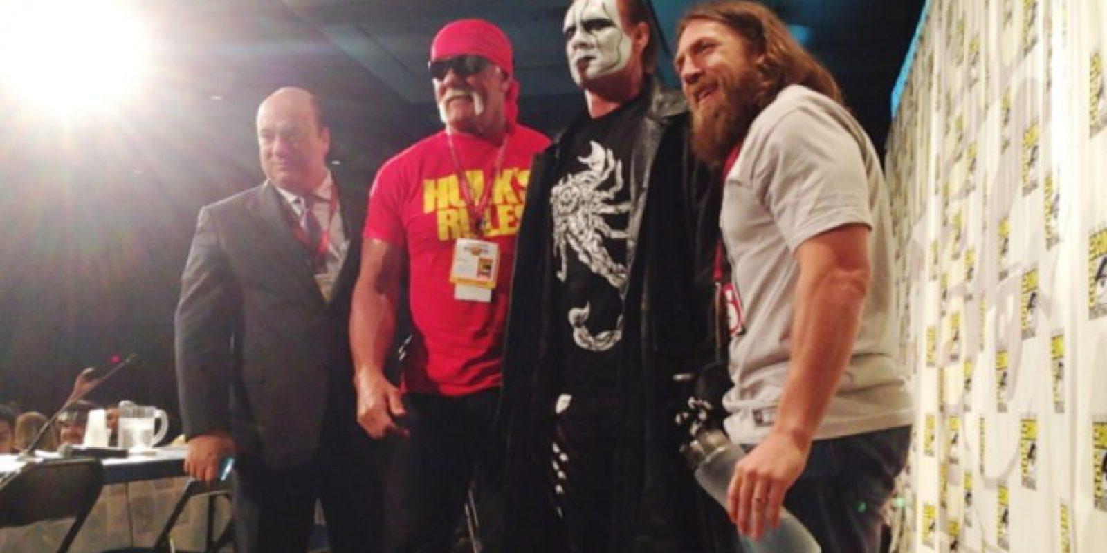 La leyenda viviente debutó en la WWE en el pasado Survivor Series Foto:WWE