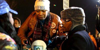 La emotiva reacción de la desgarradora de Michael Brown Foto:AFP