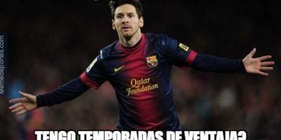 Los memes festejan el récord de Lionel Messi en la Champions League