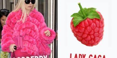 Lady Gaga es una fruta Foto:Twitter