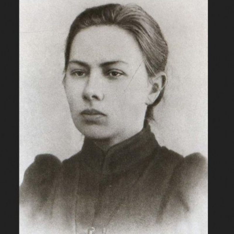 Nadiezhda Krupskaya fue esposa de Vladimir Lenin Foto:Wikipedia