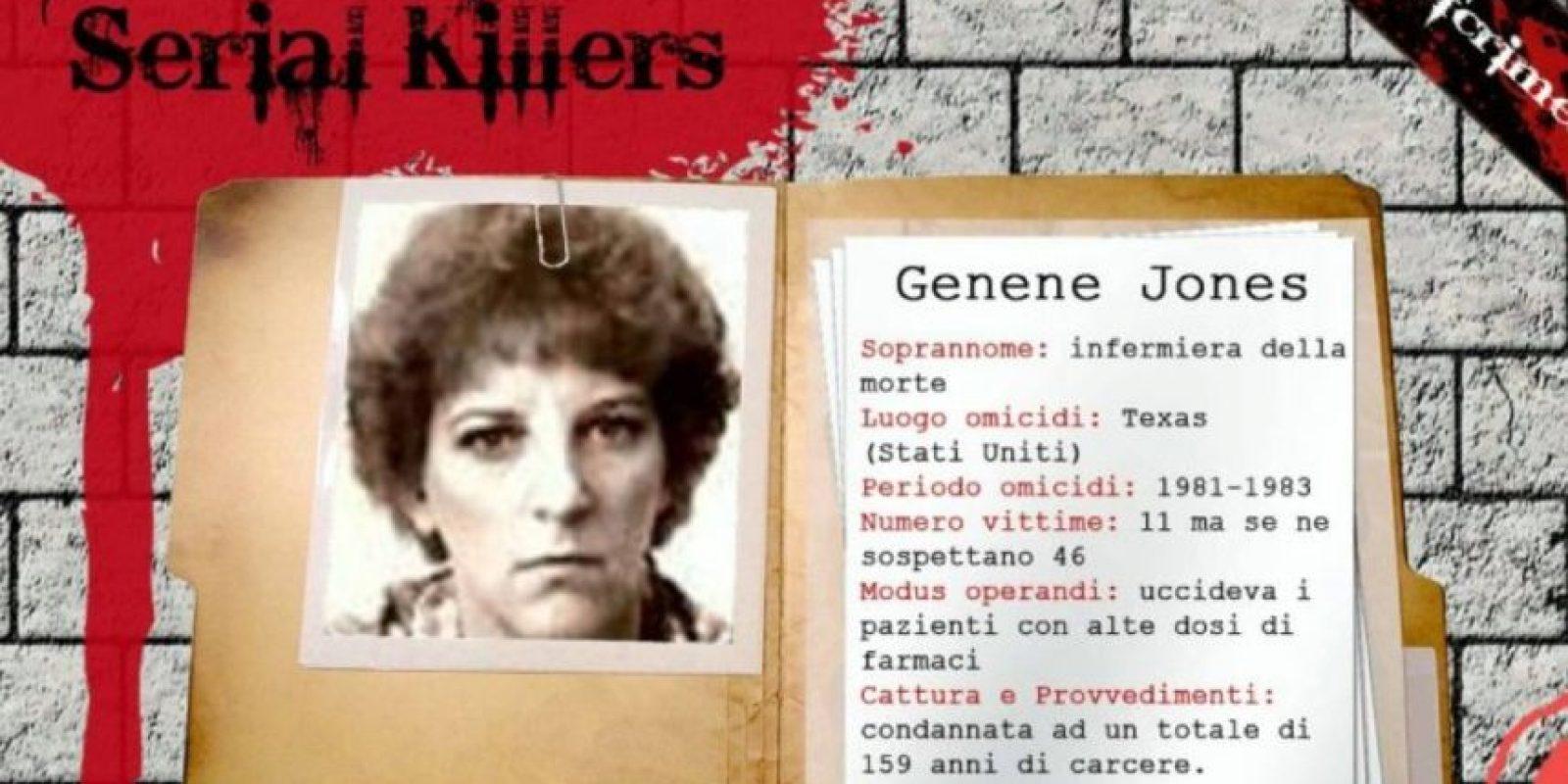 Genene Jones, 'Baby Killer', asesina de bebés en serie. Foto:KillerHallOfFame