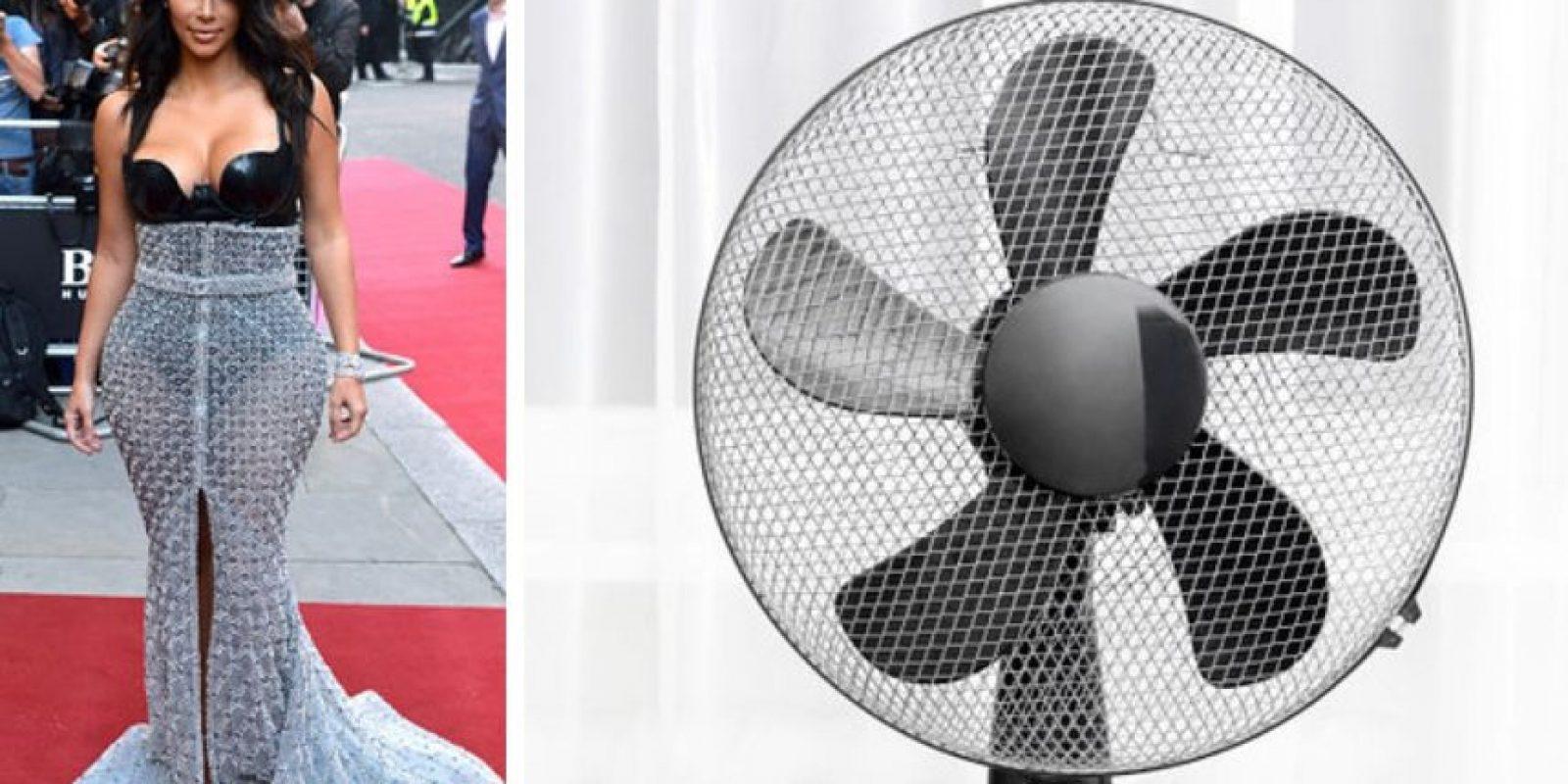 O un ventilador Foto:Twitter