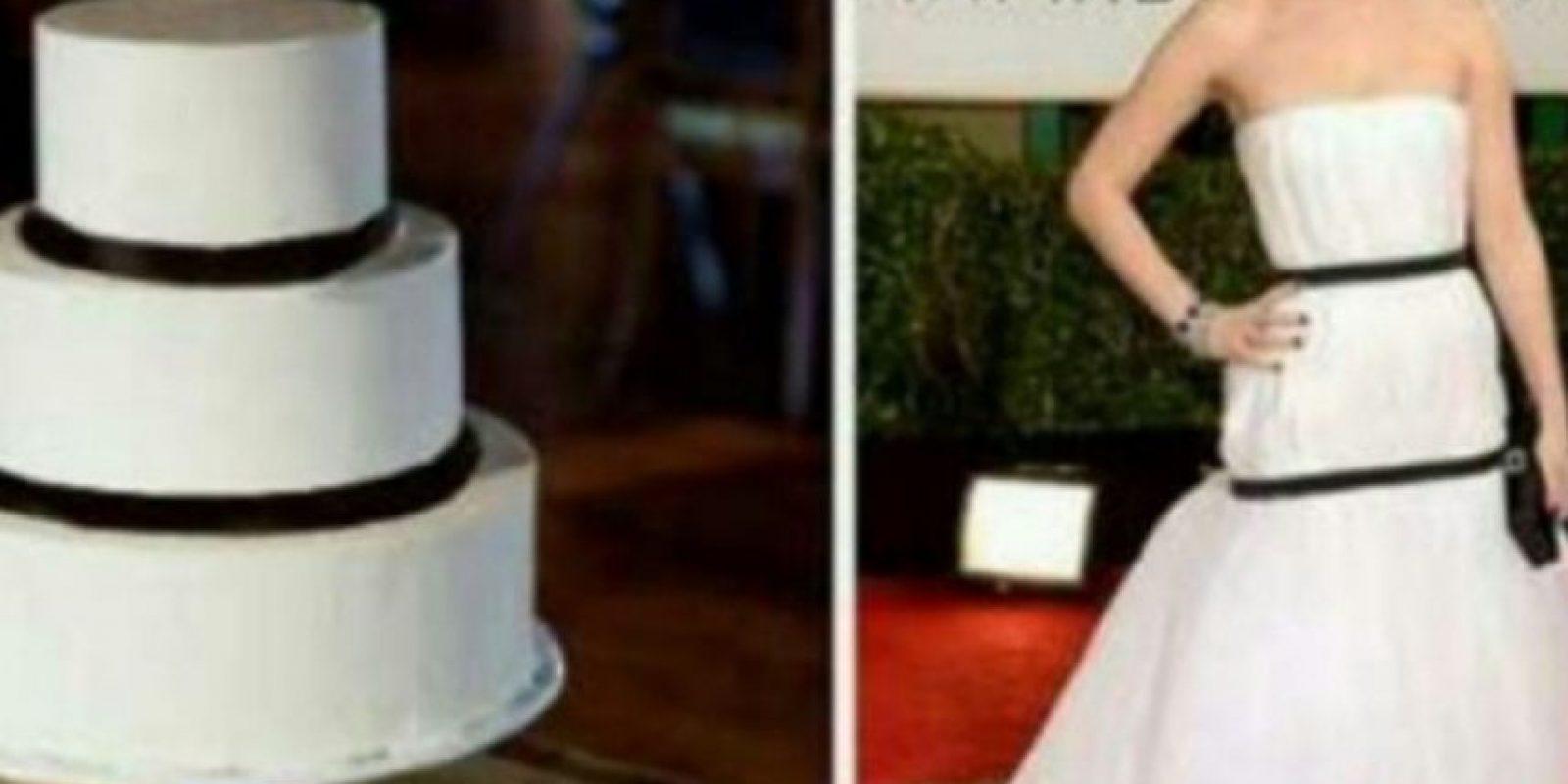 Mejor, qué lindo pastel. Foto:Twitter