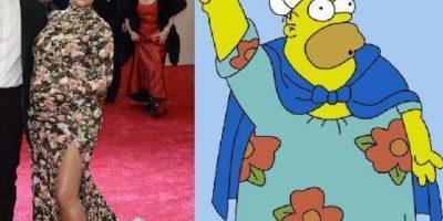 Homero luce mejor. Foto:Twitter