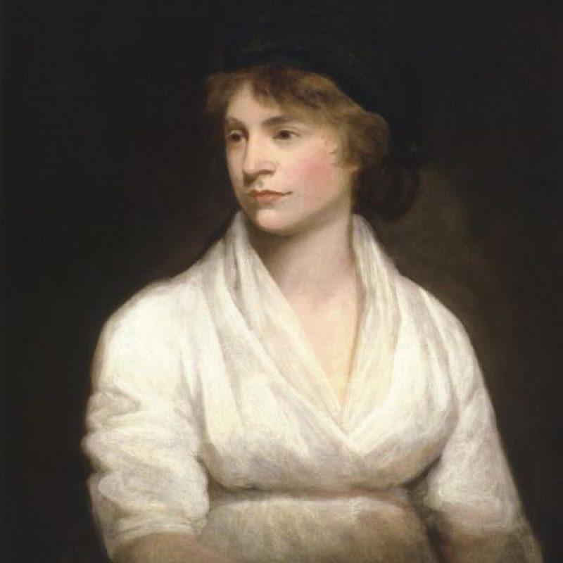 Mary Wollstonecraft luchó en la Inglaterra del siglo XVIII por los derechos de las mujeres Foto:Wikipedia