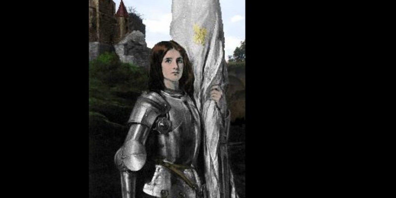 Fue quemada en la hoguera. Es considerada santa. Foto:Wikipedia