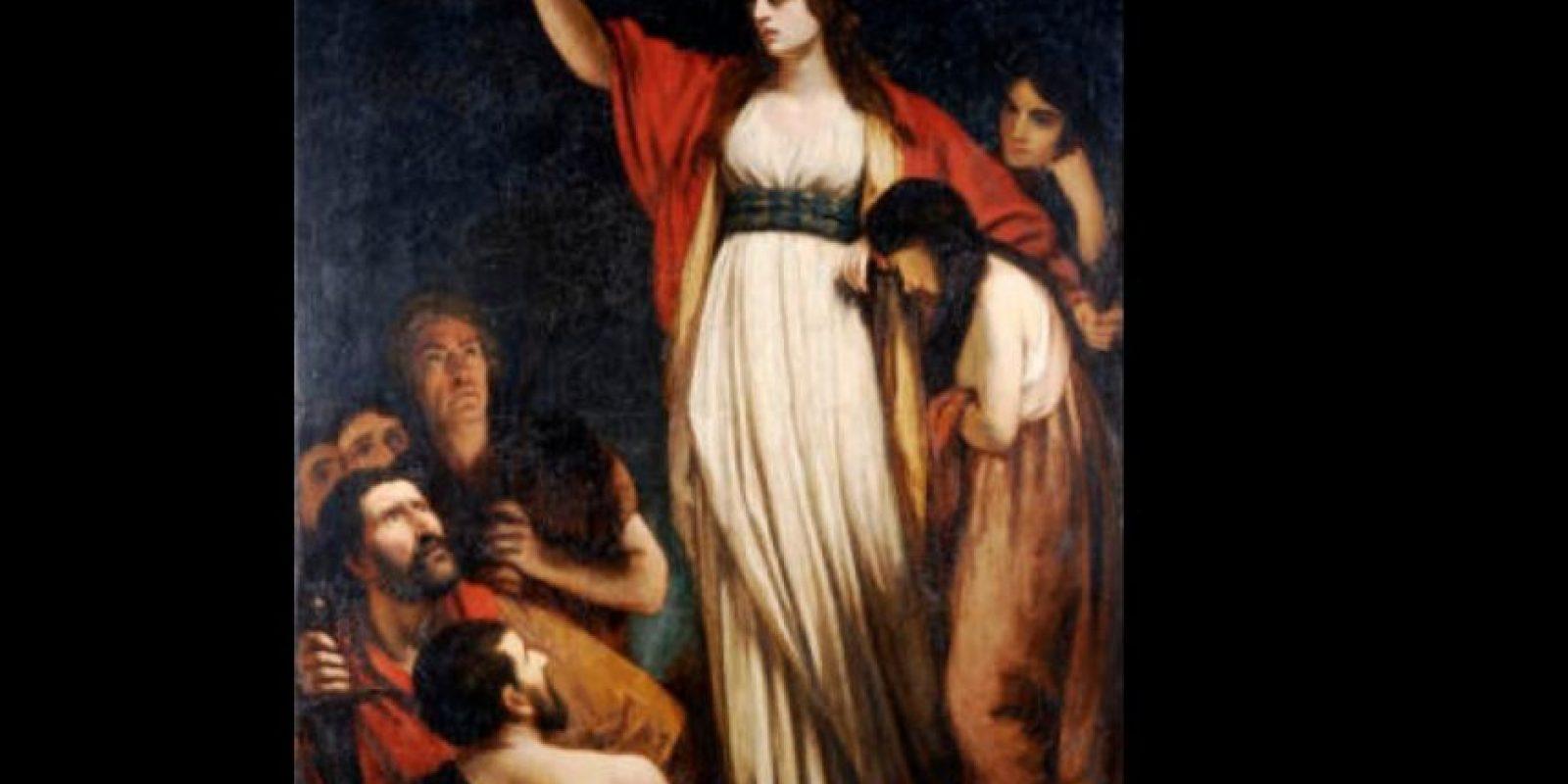 Boudica fue una reina icena que luchó por mantener a su reino lejos de los romanos Foto:Wikipedia