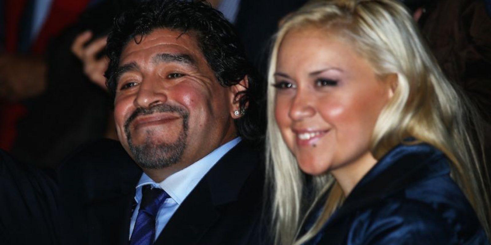 En la entrevista con la televisora deseo lo mejor a Diego y su actual pareja. Foto:Getty Images