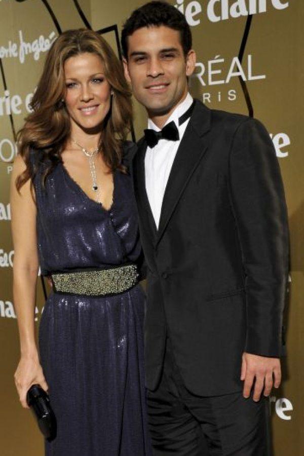 Jaydy Michel y Rafael Márquez. Foto:Getty Images