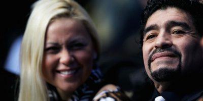 Verónica y Diego tienen un hijo, quien lleva el mismo nombre que su papá. Foto:Getty Images