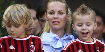 Helena Seger y Zlatan Ibrahimović tienen dos hijos. Foto:Getty Images