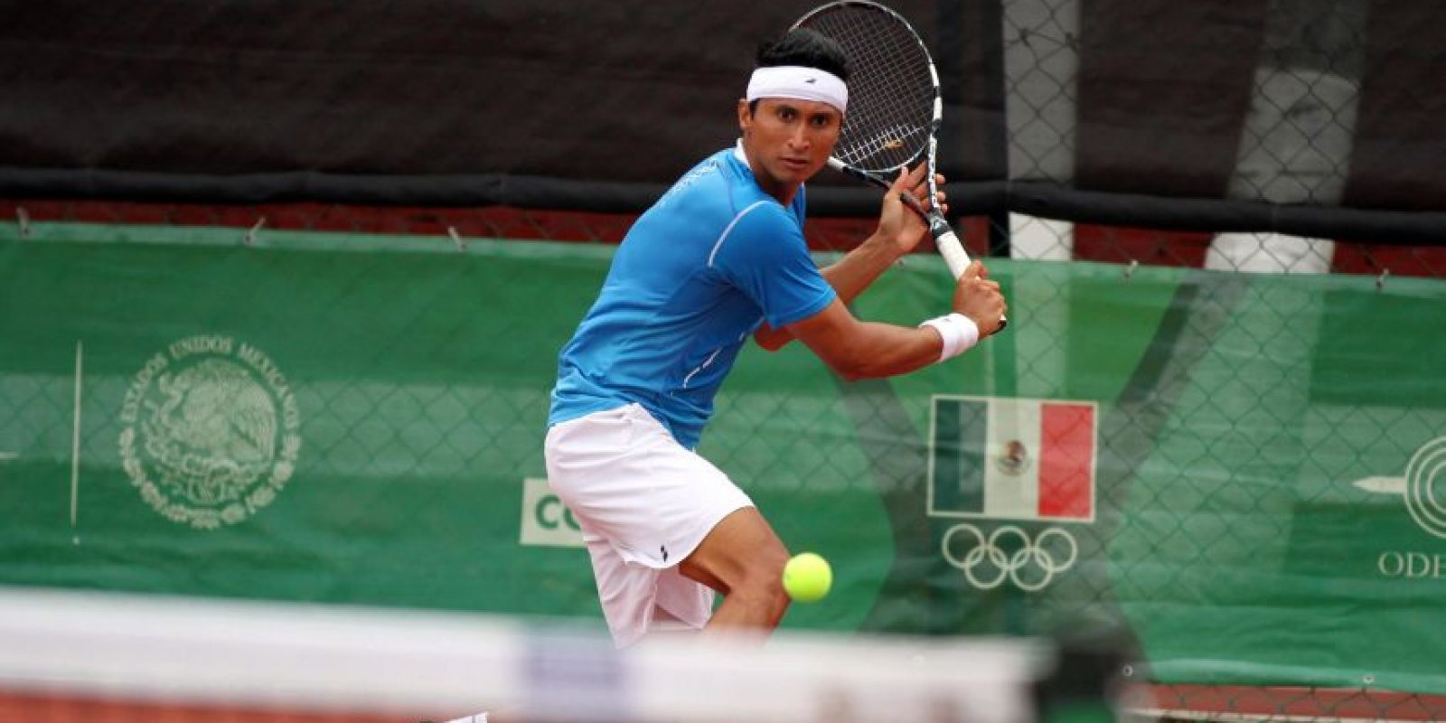 El tenista Cristopher Díaz no pudo avanzar y fue eliminado en los cuartos de final. Foto:COG