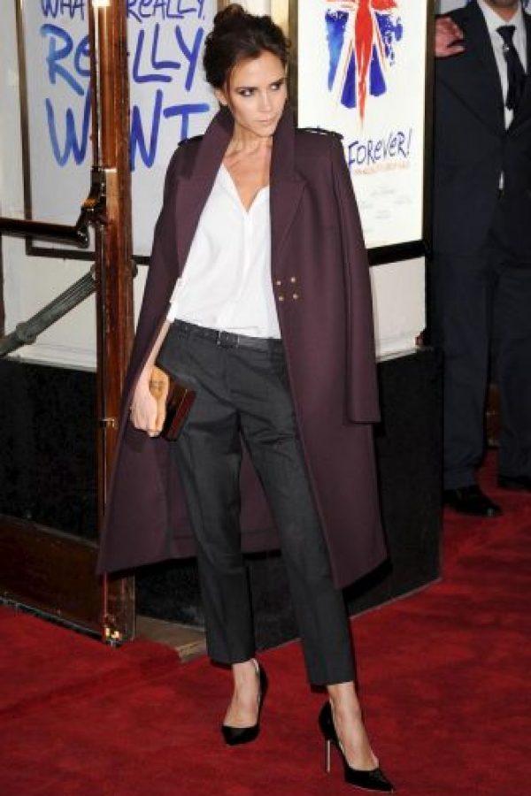 """Victoria, nacida en abril de 1974, era cantante del famoso grupo británico """"Spice Girls"""" y se casó en 1998 con David Beckham. Foto:Getty Images"""