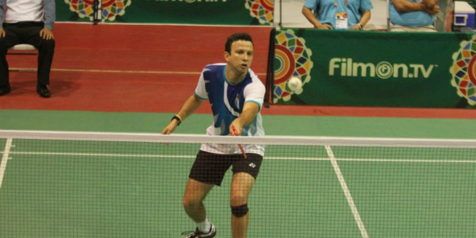 Kevin ganó el primer partido para Guatemala. Foto:COG
