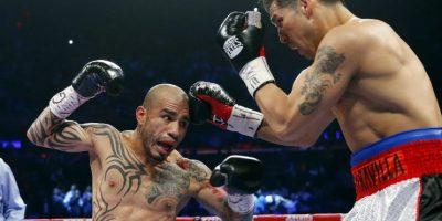 El púgil de Puerto Rico cuenta con un tatuaje que recorre desde su pierna hasta su brazo, en el lado derecho Foto:WWE