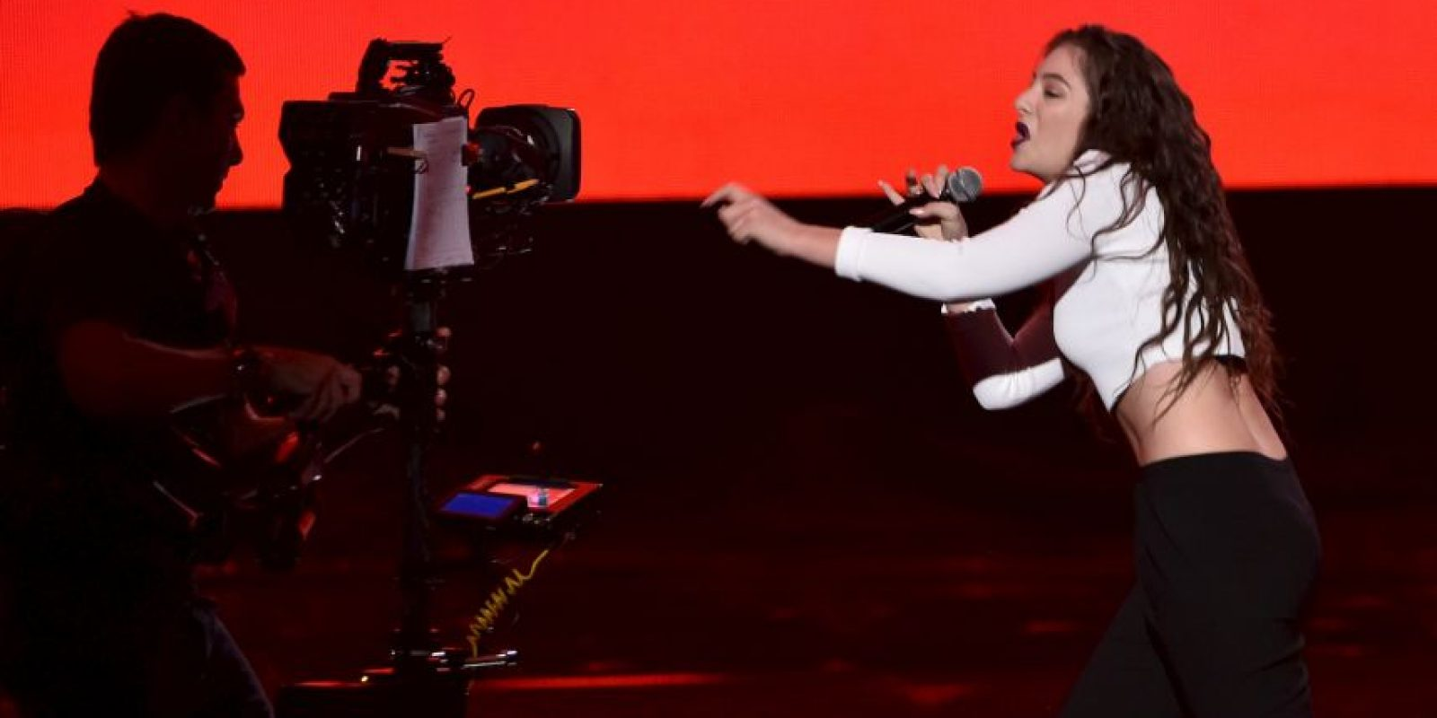 """Su primer single, """"Royals"""", alcanzó el top 10 en más de 20 países Foto:Getty Images"""