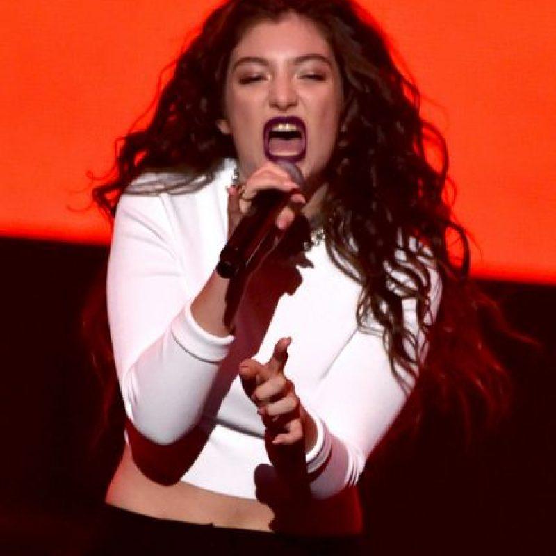 Lorde sigue consolidando su carrera musical Foto:Getty Images