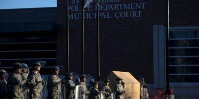 FOTOS: Desplegada la Guardia Nacional en Ferguson