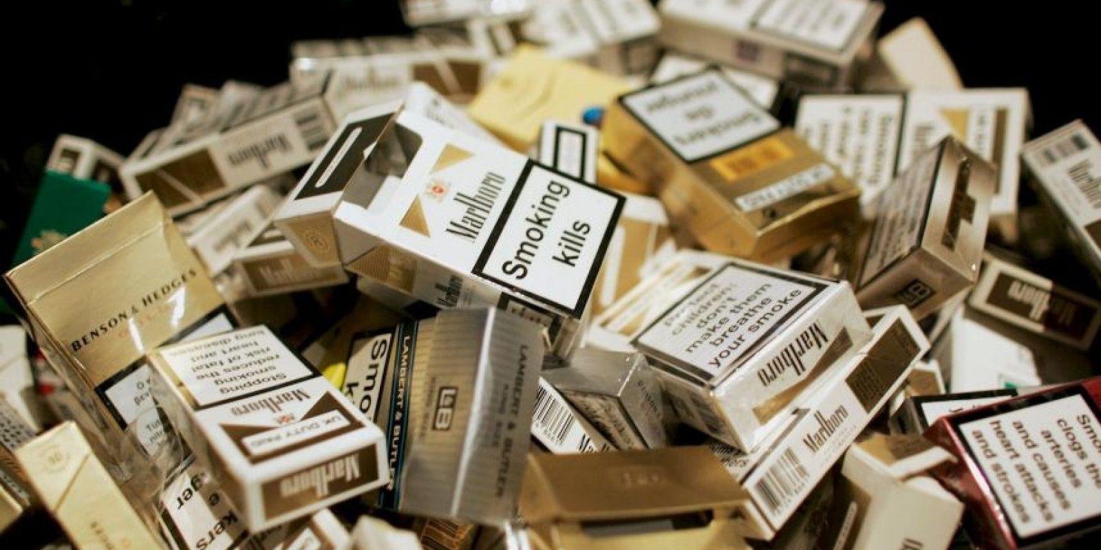 4. En el humo de tabaco hay unos 4000 productos químicos conocidos, de los cuales se sabe que, como mínimo, 250 son nocivos, y más de 50 cancerígenos para el ser humano. Foto:Getty Images