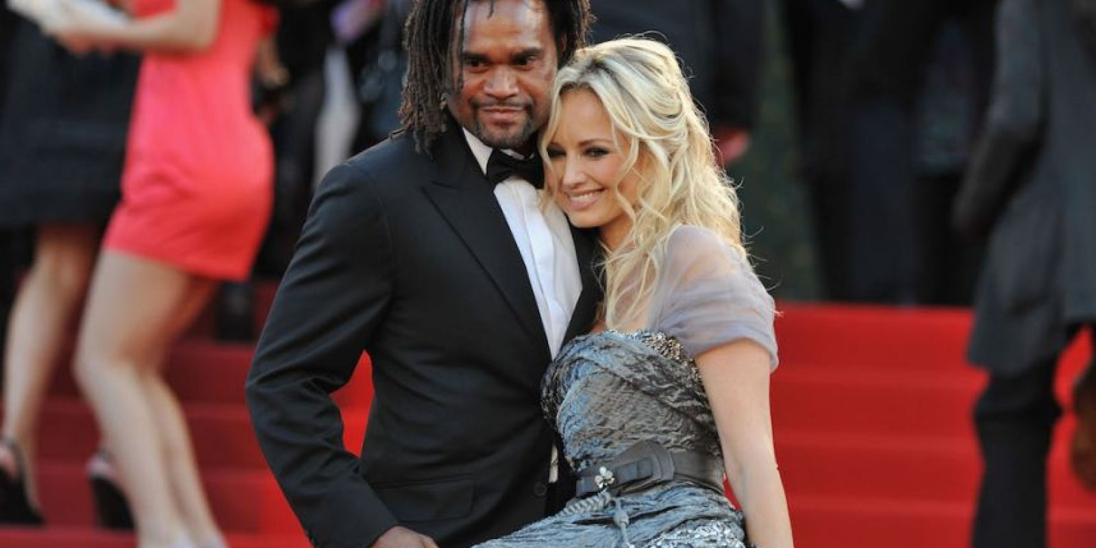 Adriana y Christian Karembeu. Foto:Getty Images