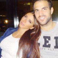 Daniella Semaan y Cesc Fàbregas. Foto:instagram.com/4ladyd