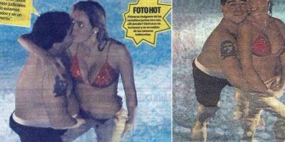 Las fotos de Maradona con su novia Rocío Oliva. Foto:Muy