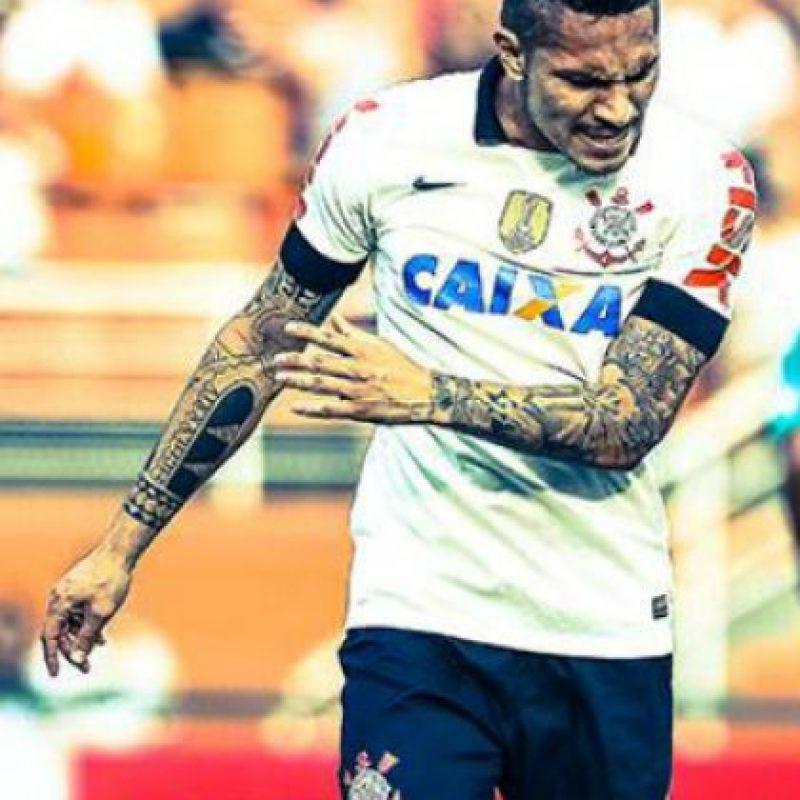 Olfato goleador y una gran cantidad de tattoos caracterizan al delantero peruano Foto:Twitter
