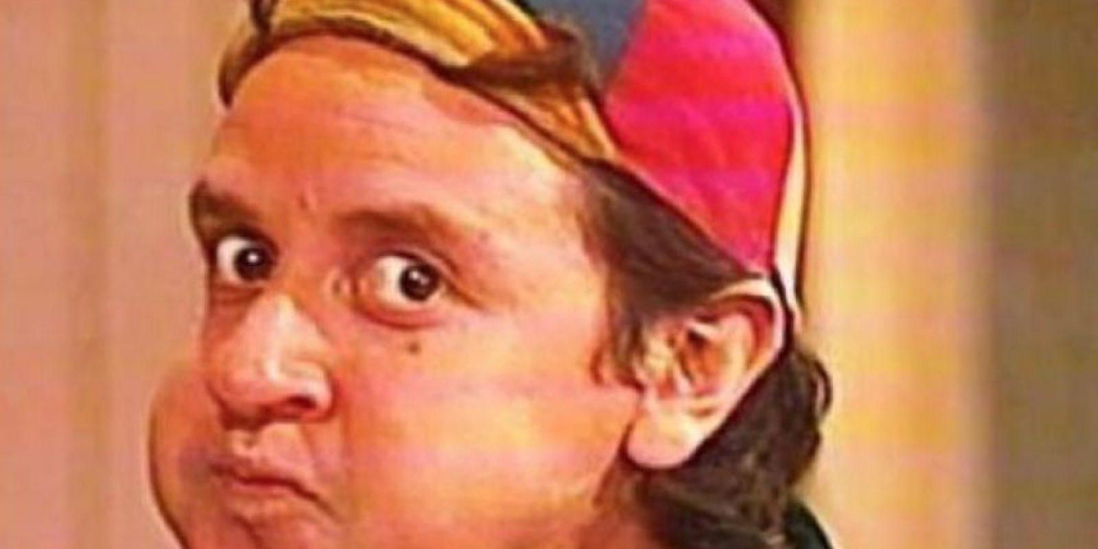 """Carlos Villagrán era """"Quico"""" Foto:Televisa"""