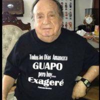 Este humorista tiene 85 años y sigue siendo popular entre sus fans Foto:Twitter/Chespirito
