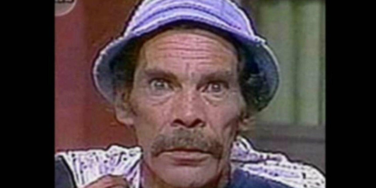 "Ramón Valdes era ""Don Ramón"" Foto:Televisa"