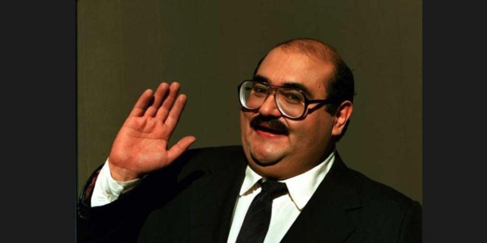 """También al """"Señor Barriga"""" Foto:Televisa"""