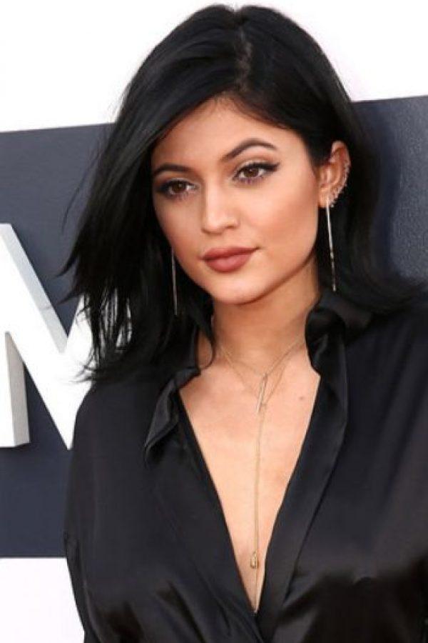 Kylie Jenner tenía su cabello sin transformar Foto:Getty Images