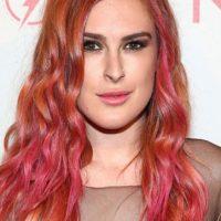 Rumer Willis tenía las mechas rosadas Foto:Getty Images