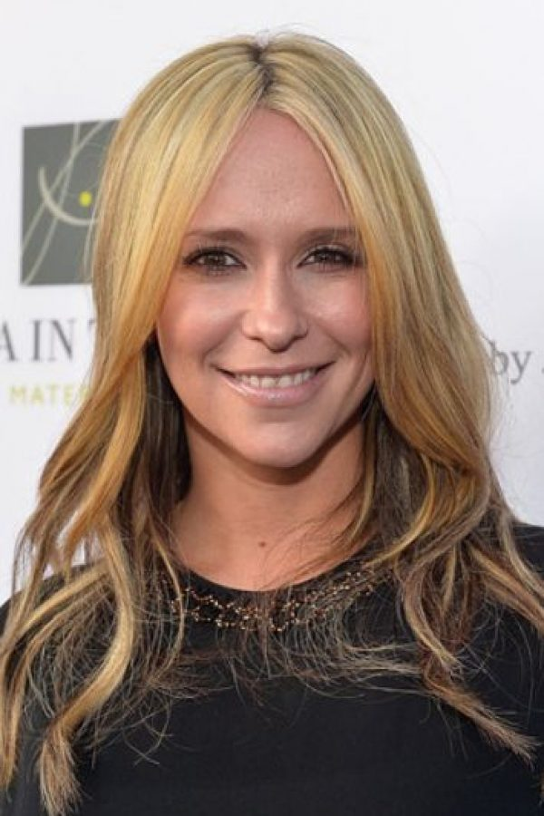 Jennifer Love Hewitt era rubia. Foto: Getty Images