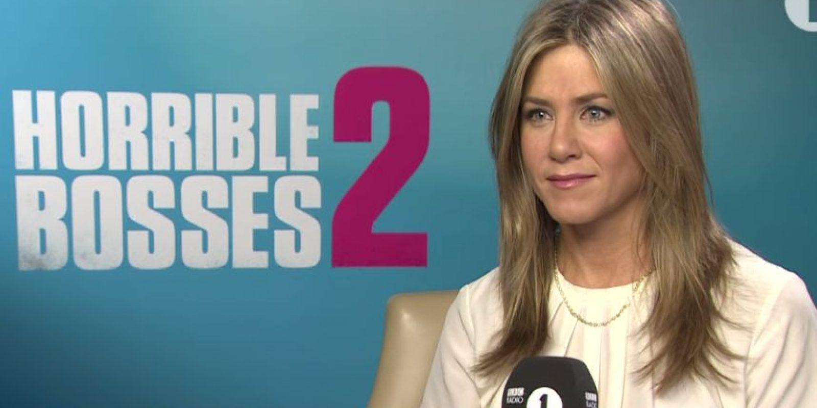 Aniston tiene dos medio hermanos, John Melick y Alex Aniston Foto:BBC Radio 1