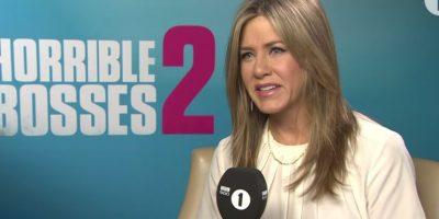 Aniston también disfruta de una exitosa carrera en el cine Foto:BBC Radio 1