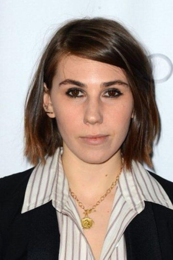 Zosia Mamet tenía el cabello castaño Foto:Getty Images